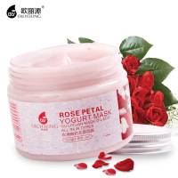 Rose Petal Yogurt Face Mask Whitening Moisturizing Anti Aging Acne Treatment Oil Control Facial Masks Beauty Skin Care