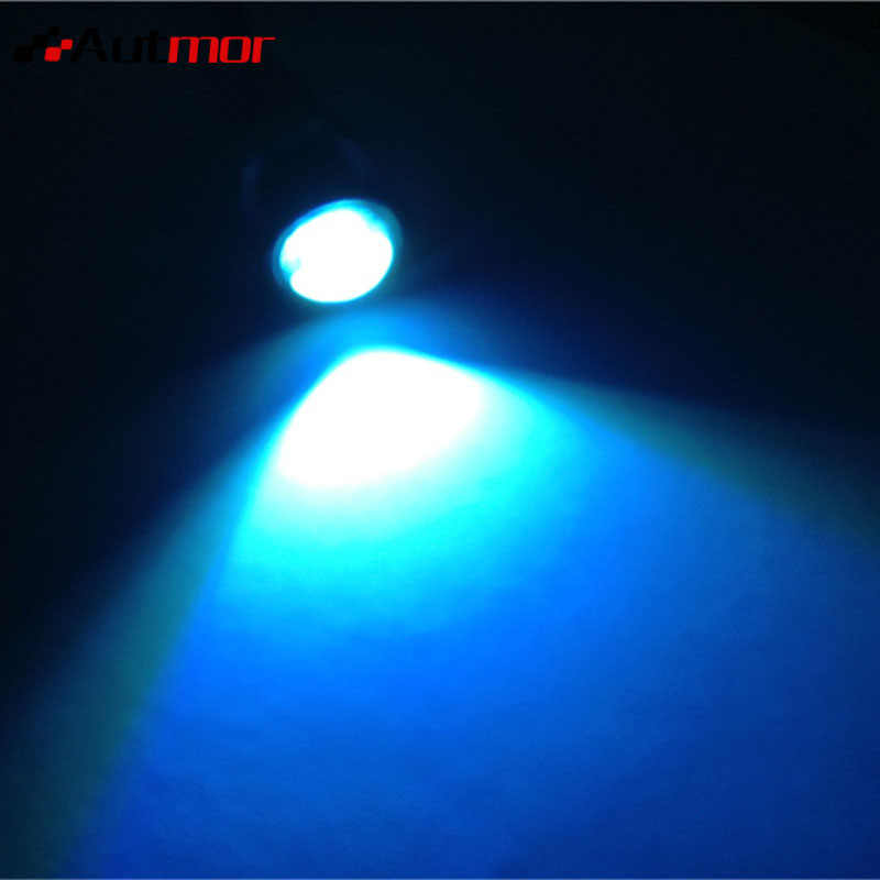 AUTMOR 9W 18mm 12V 7 Colors LED Eagle Eye Light Car Fog DRL Daytime Reverse Backup Parking Working Lamp Car Accessories