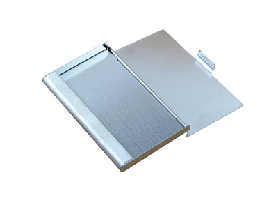 цена на Waterproof Stainless Steel Silver Aluminium Metal Case Box Business ID Credit Card Holder Case Cover 9.3x5.7x0.7cm
