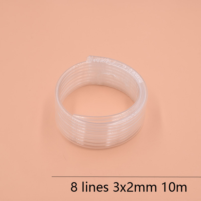 10METERS 8 Lines eco solvent printer ink tube 3X2MM+10PCS Eco Solvent Damper for EPSON DX7