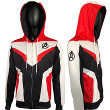 Avengers Endgame Hoodie Cosplay Jacket Costume Marvel Superhero quantum realm Sweathirt Hoodies Coat Costumes
