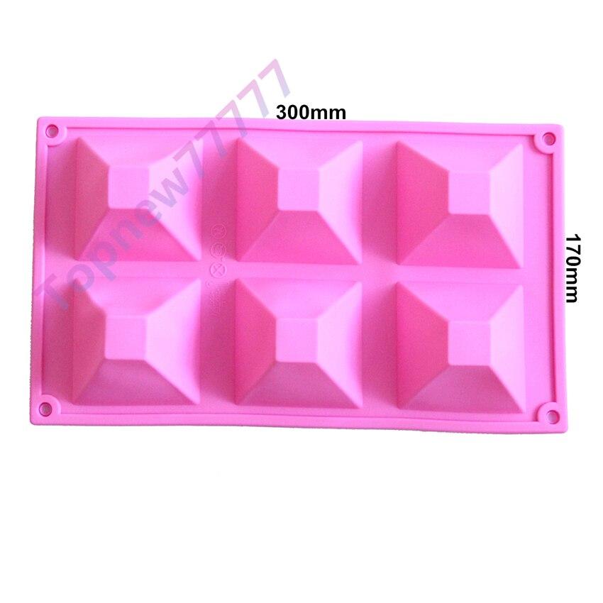 Pastel de silicona molde para hornear chocolate Candy molde fondant molde  cake decoración herramientas DIY 2480 cc876c76e5691