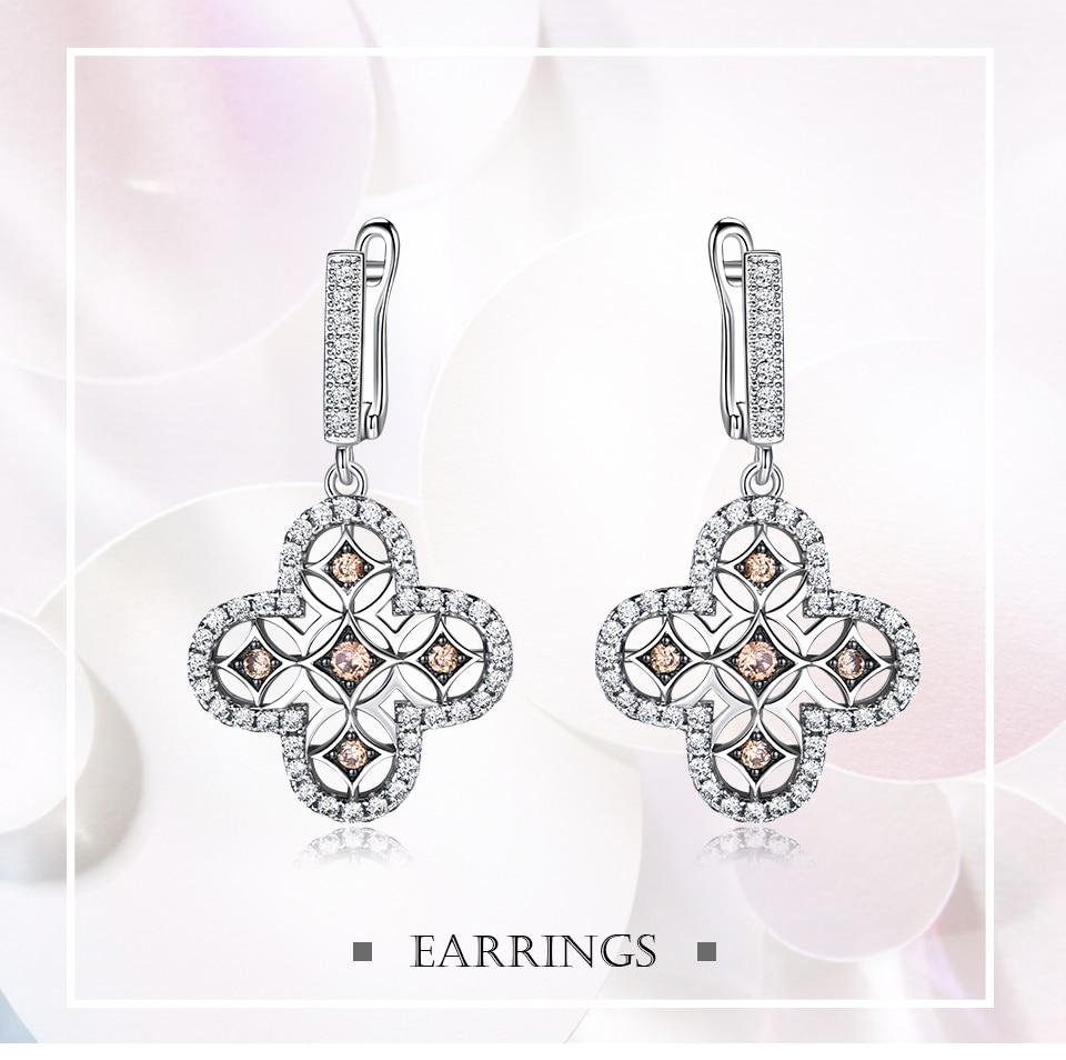 Honyy  925 sterling silver earring for women EUJ089Z-1-PC (1)