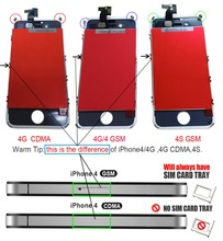 Mejores piezas de repuesto de teléfono móvil negro blanco pantalla táctil digitalizar pantalla completa asamblea partes repalcement pantalla lcd para iphone 4