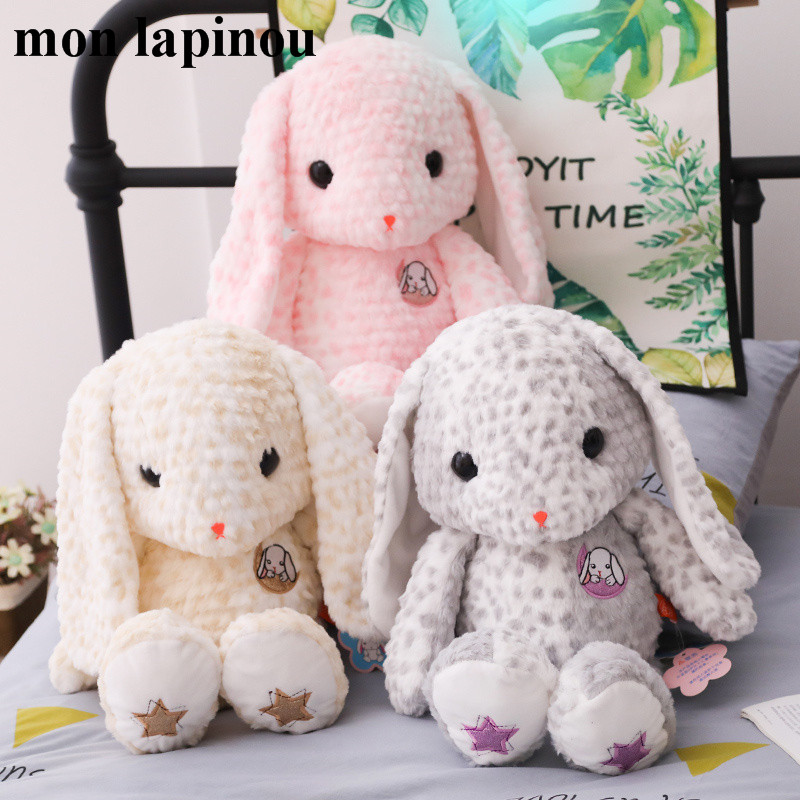 cute rabbit plush toy stuffed animal soft doll long ears bunny plush toys for children special material pink plush toy for girl stuffed toy