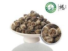 Жасмин король органический перл класс зеленый топ чай ручной г