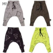 2017 Fashion Kikikids Nununu Boys Girls Harem Pants Kids Long Harem Trousers Brand Toddler Infant Pants Maka Kids Harems Pants