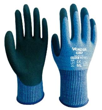 цена на Soft Aramid Fiber Anti Cut Safety Glove Comfortable Cut Resistant Cut Proof Work Glove