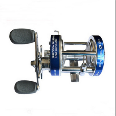 Ming Yang drum CL30 90 double crank wheel lateral metal ice fishing reel wheel fishing tackle in Fishing Reels from Sports Entertainment