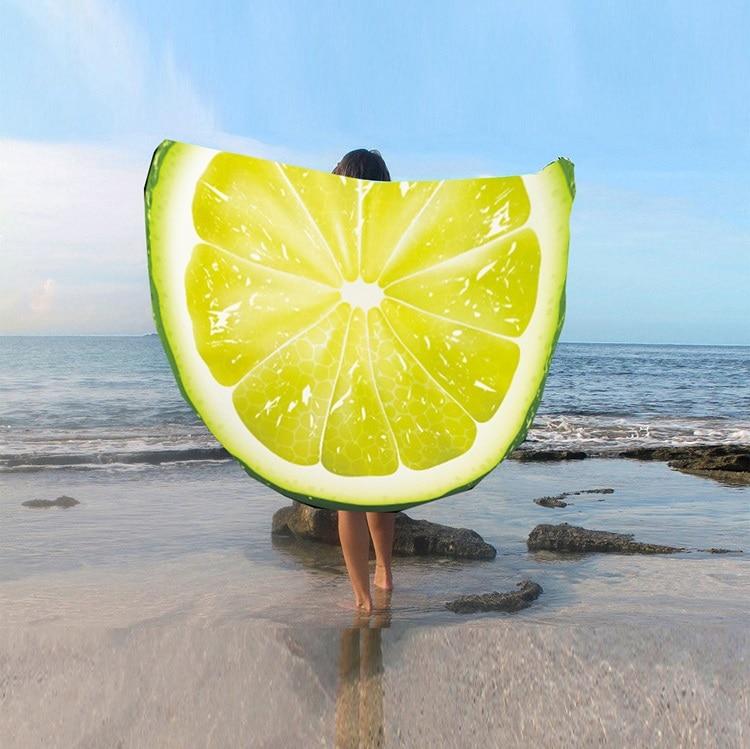 2019 Foreign Trade Manufacturers Develop And Design Pure Silk Round Tassel Beach Towel St06-25