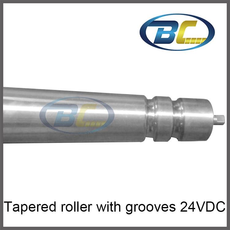 Powered roller, conveyor roller, belt conveyor drum motor, tapered roller 24VDC, 220V AC