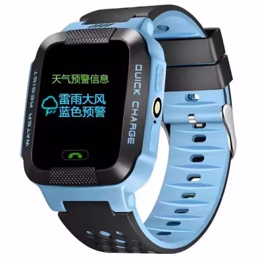 Children Smart Watch GPRS Base Station Positioning Study Play Touch Screen SOS Emergency Alarm Phone Book Wechat Kids Wristwatch