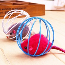 2017 Popular New For Pet Cat toy toys Lovely Kitten Gift Funny Play Toys Mouse Ball for Cats Dogs Play 6.5cm
