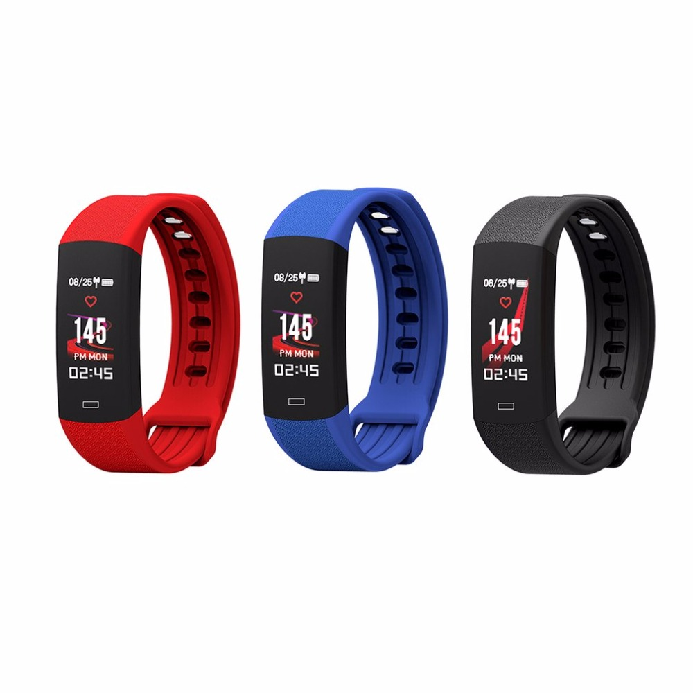 2018 B6 SmartBand color screen Activity Fitness Tracker Smart Wristband Heart Rate IP67 Waterproof Bracelet For IOS Android