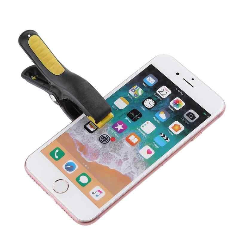 Độ ôm chân Kẹp Nhựa Kẹp Gắn Chốt Kẹp cho Điện Thoại Di Động Máy Tính Bảng Dán MÀN HÌNH LCD Màn Hình Dụng Cụ Sửa Chữa 3 Inch 1/ 2 chiếc New Hot