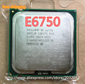 Original For Intel Core 2 Duo  e6750 E6750 Processor 2.66 GHz Dual-Core SLA9V LGA 775 Desktop cpu(working 100%