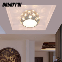 Colorpai 7W 220V 240V Aisle lights lamp porch lamp lights home aisle lamp LED ceiling lighting lamp mounting surface embedded