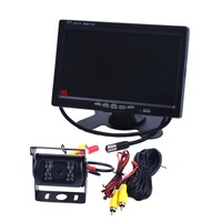 For Bus & Truck HD CCD 135 Degree IR Nightvision Waterproof Car parking Rear View Camera Cmos Bus Truck Camera