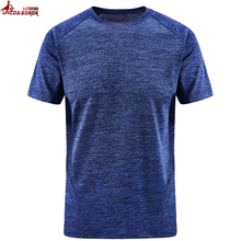 UNCO&BOROR plus size 7XL 8XL women and men soild color quick dry Breathable t shirt outwear sporting Tourism Mountain tops&tees
