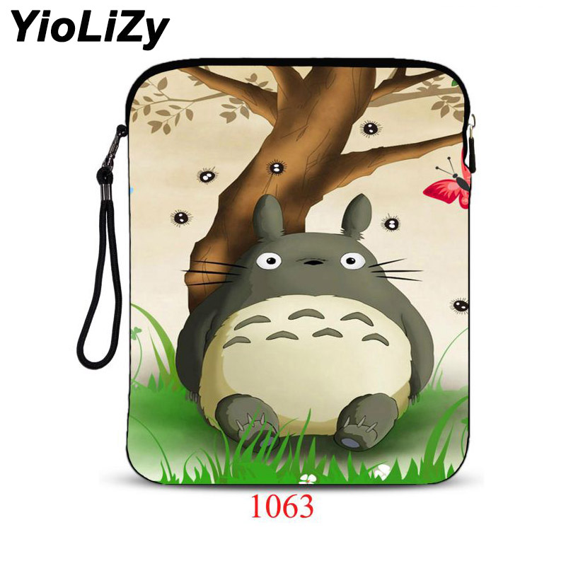 Totoro print waterproof 9.7 inch laptop bag Cover Ultra-thin tablet bag notebook Case For iPad Air 2 for ipad pro 9.7 IP-1063