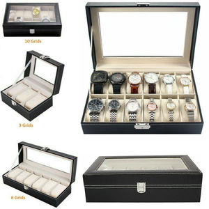 3/6/12 Faux Leather Watch Case