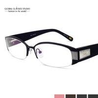 New Diamond Design Fashion Cool Classic Plain Colorful Pink White Clear Lens Fancy Wholesale Glasses Eyewear