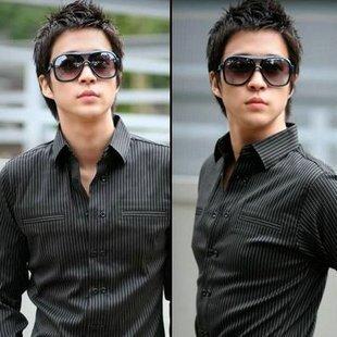 122ecc527588 Korean version new cool retro men sunglasses large frame sunglasses women  outdoor fashion glasses ken block oculos de sol B0049