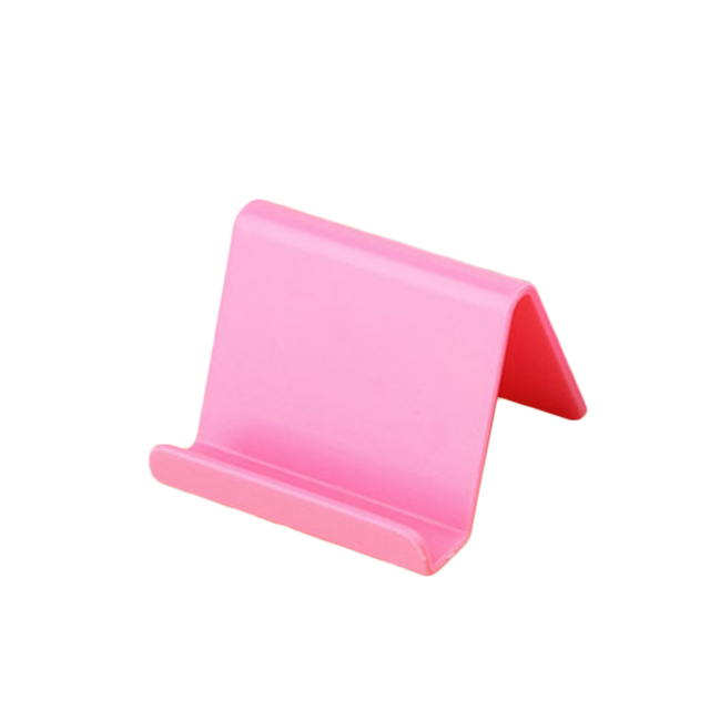 Universal Plastic Phone Holder Stand Base For iPhone 7 8 X for Samsung for Xiaomi Smartphone Candy Color Mobile Phone Bracket 2