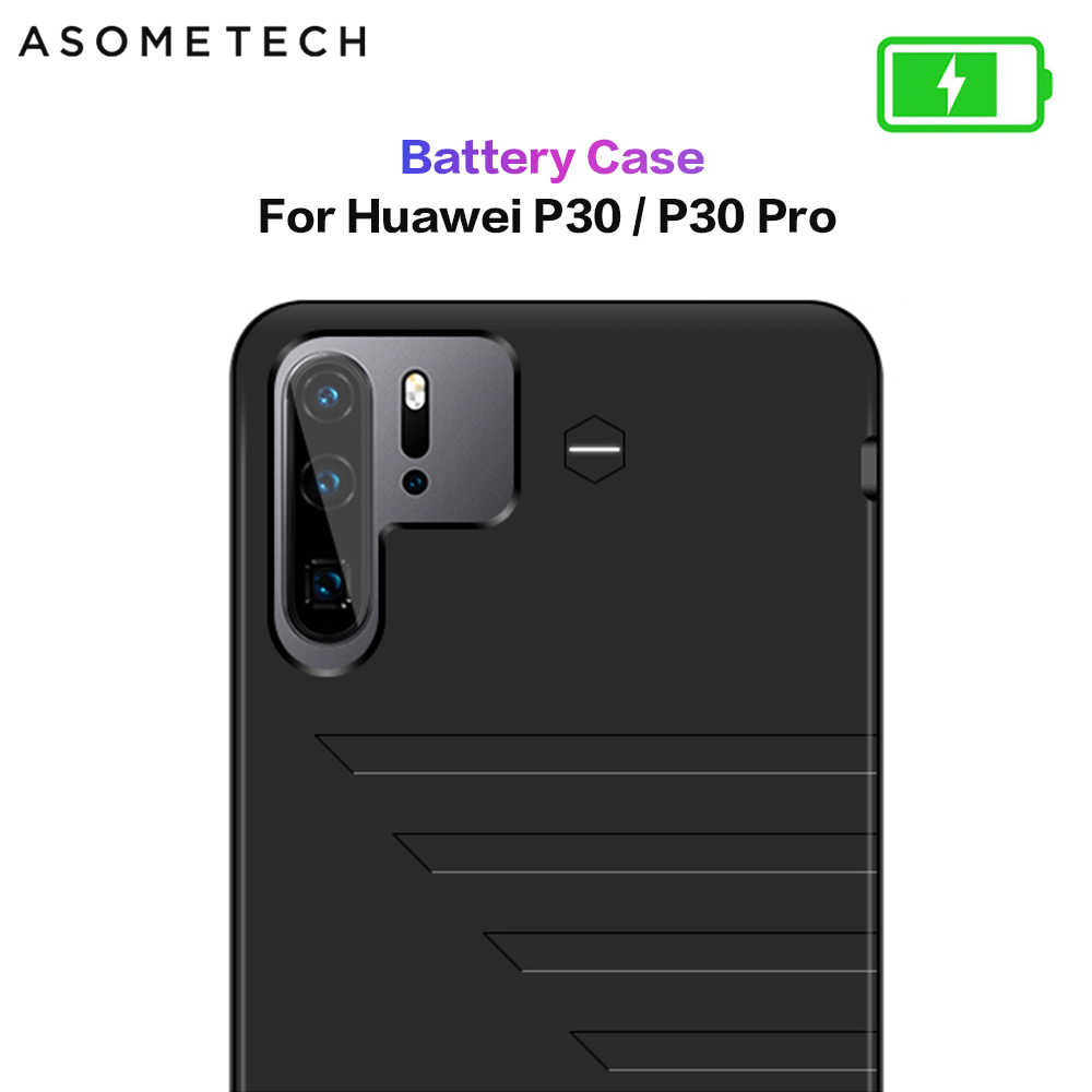 6800mAh Battery Charger Case For Huawei P30 Power Bank Battery Case Charging Phone Cover Slim Powerbank Case For Huawei P30 Pro