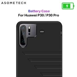 6800 mah caso carregador de bateria para huawei p30 power bank bateria caso de carregamento capa do telefone magro caso powerbank para huawei p30 pro