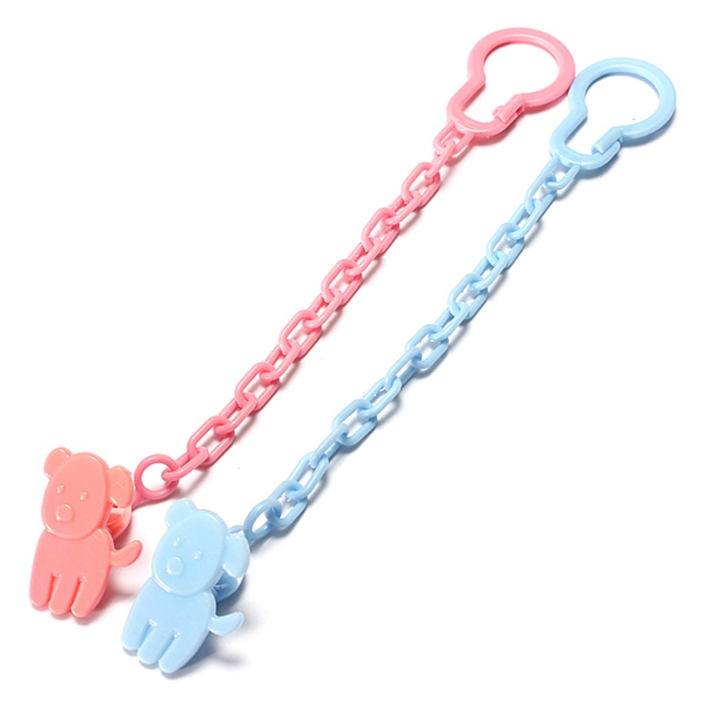 Stylish Holder Infant Mom Plastic  Dummy Soother Clasp Baby Pacifier Clips