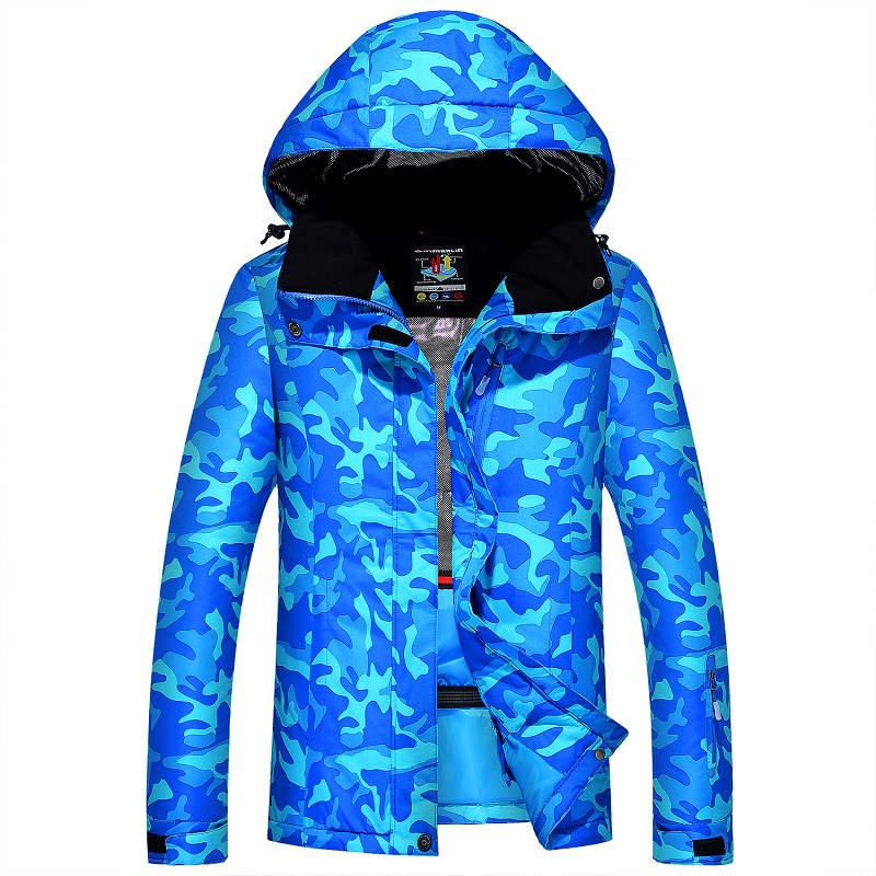 Women Winter Ski Jacket Waterproof Windproof Snow Sports Jackets For Female Outdoor Skiing Snowboarding Clothes Women's gsou snow ski suit for women skiing suit winter outdoor sports clothes snowboard set camouflage ski jacket and pants multicolor