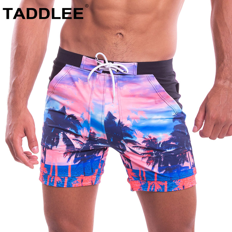Taddlee Brand Sexy Swimwear Men Swimsuits Swim Boxer Briefs Shorts Square Cut Surfing Boardshorts Bathing Suits Swim Trunks Gay