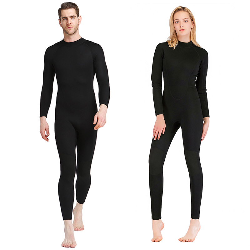 1 5mm Neoprene Men Women Diving Suits Full Body Wetsuits Snorkeling Swimsuits One Piece Scuba Swimming