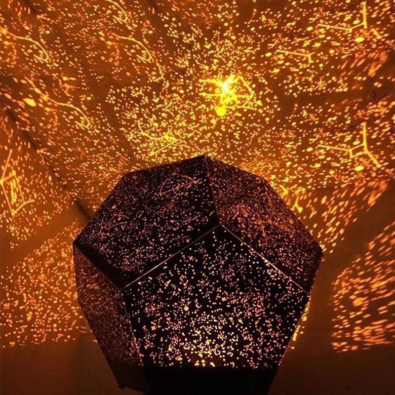 Celestial Star Astro Sky Projection Cosmos Night Lights Projector Night Lamp Starry Romantic Bedroom Decorative Lighting