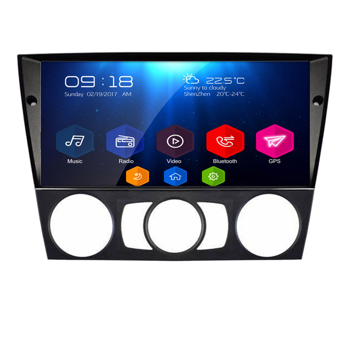 For <font><b>BMW</b></font>(<font><b>E90</b></font>/E91/E92/E93) Built in WIFi with DVD Capacitive Touch Screen Android 6.0Quad Core 16G Autoradio car DVD GPS ST-902GDA