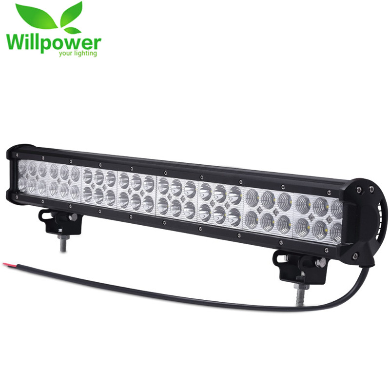 IP67 Waterproof 4x4 Car Combo Beam Double Rows 144W 24 Inch Offroad Led Light Bar Pickup