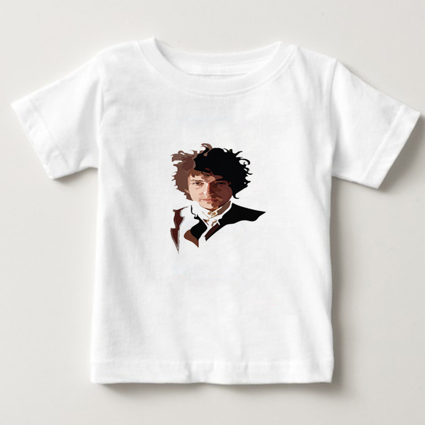 Children 100% cotton BOB DYLAN Printed t shirt o-neck casual T shirt short-sleeved t-shirts hip hop boy/girl tee shirt 2018 NN