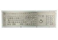 Металлические медицинские клавиатура с 103 ключей морской военный медицинские Класс клавиатур трекбол промышленные клавиатуры Испанский к