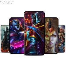 dota 2 painting Silicone Case for Oneplus 7 7Pro 5T 6 6T Black Soft Case for Oneplus 7 7 Pro TPU Phone Cover