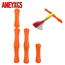 6pcs  Archery Finger Guard  Bow String Silicone Protector Outdoor Arrow Hunting Accessory bowstring finger guard hunting archery saver soft silicon material protector gear quick shooting target bow and arrow accessory