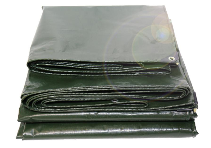 Customize 4mX5m Army Green Color Outdoor Waterproof Material, Waterproof Cover, Rain Tarp, Truck Tarpaulin.larger Tent Material