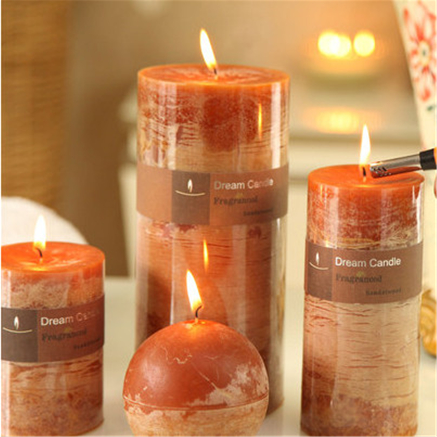 decorative candles craft aromathorapy bougies d coratives velas parafina scented candle wedding decoration pillar candle qqz11 - Decorative Candles