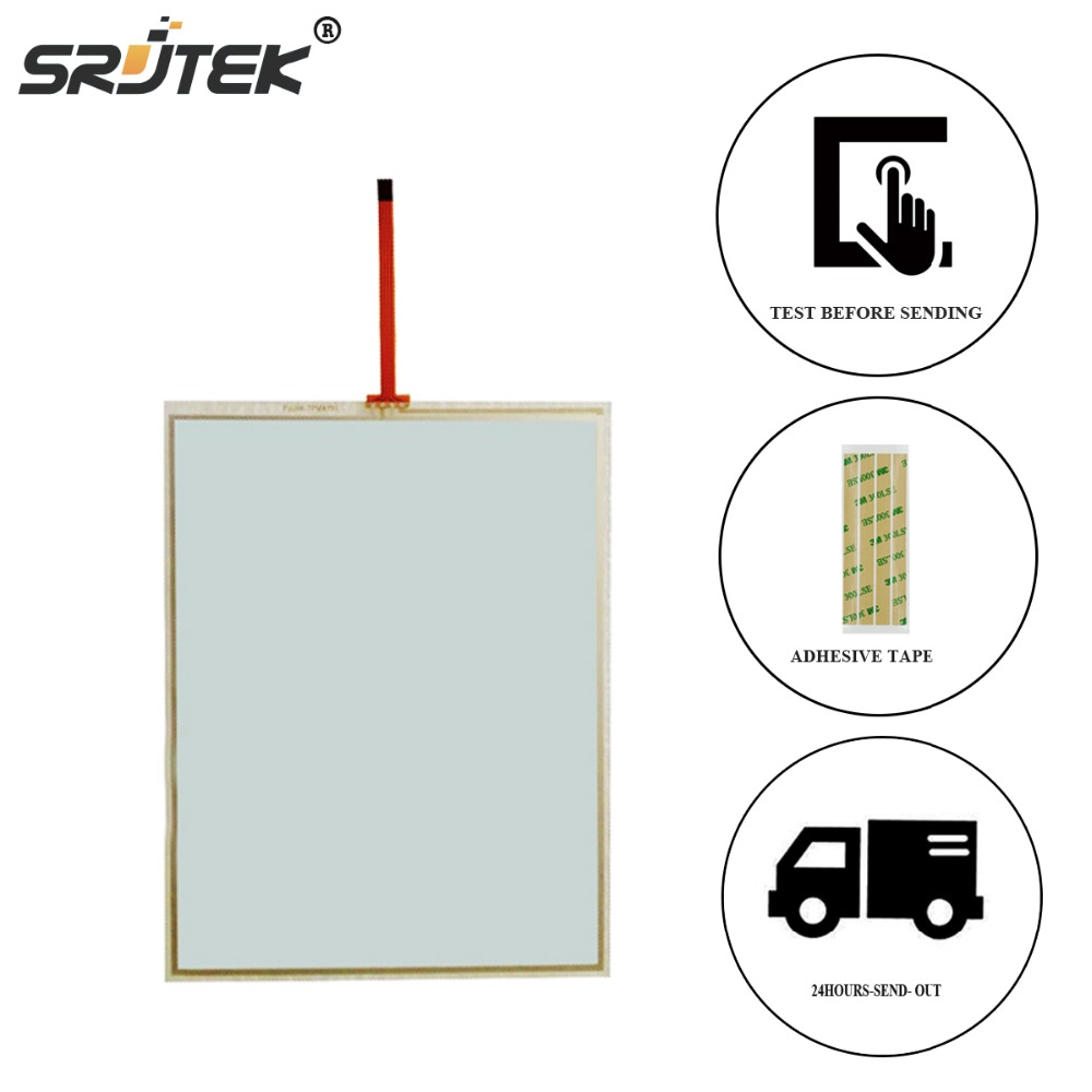Srjtek New Touch Screen For DMC TP-3174S2 TP3174S2 Touch Screen Glass Digitizer Panel 188*140mm new dmc ast075a touch screen glass