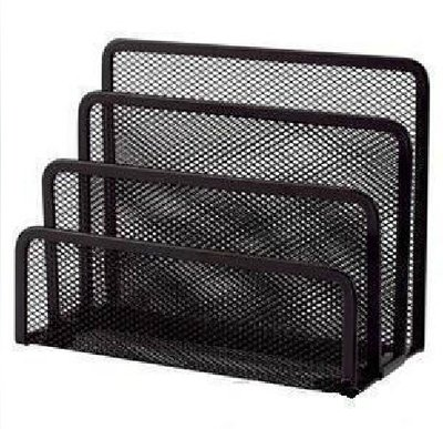 2 pcs black 3 section mesh letter note paper business card 2 pcs black 3 section mesh letter note paper business card collection holder sorter desk organizer 2 black mesh holder in card holder note holder from colourmoves