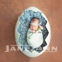 Джейн Z Ann новорожденных Подставки для фотографий гладить яичной скорлупы подарок душа Fotografia аксессуары для студийной съемки реквизит для ф