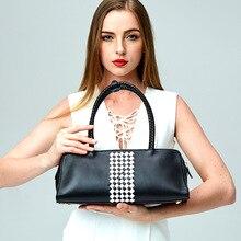 2017 New European and American Style handbags women shoulder bags women totes LUXURY Genuine leather Messenger bag Brand Design