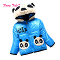 Baby Boy Coats For Winter Panda Warm Girls Boy Kids Jackets Coat Cotton Padded Boy Children Clothing Outwear 3 Colors