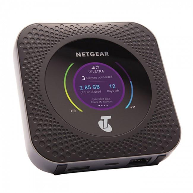 Unlocked Netgear Nighthawk M1 4GX Gigabit LTE Mobile Router Dual Band 2 4GHZ 5GHZ Wireless Wifi