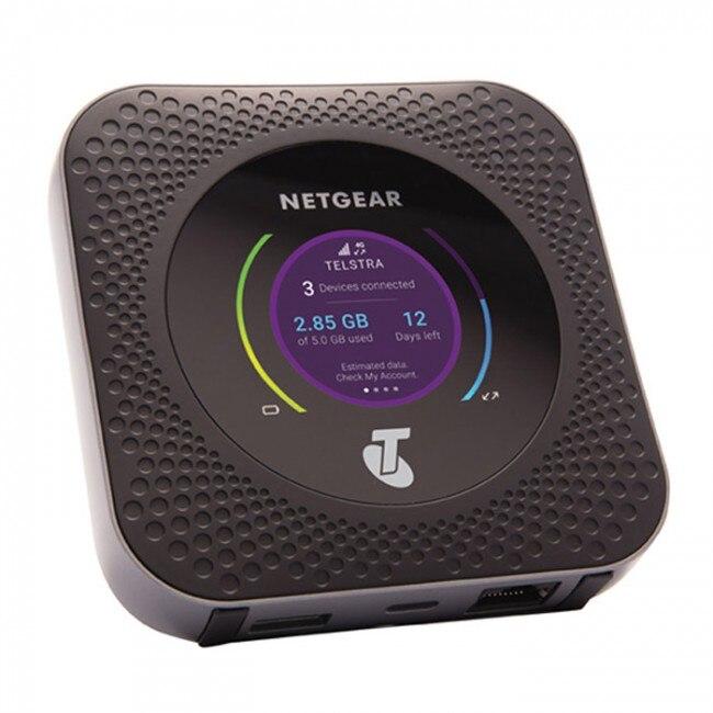 Odblokowany Netgear Nighthawk M1 4GX Gigabit LTE mobilny Router Dual Band 2.4 GHZ/5 GHZ Wireless Router Wi Fi PK B315 b525 E5186 w Rutery 3G/4G od Komputer i biuro na AliExpress - 11.11_Double 11Singles' Day 1